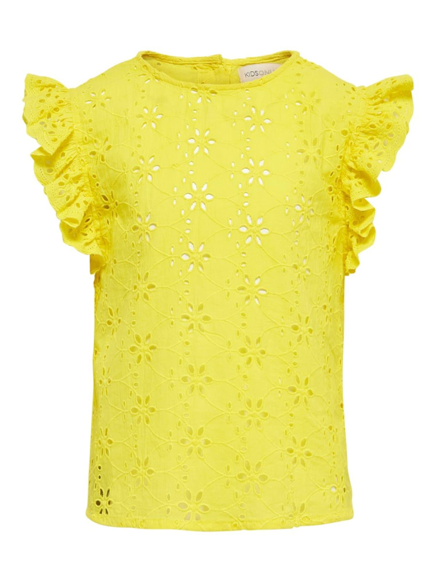 KIDS ONLY Marškinėliai geltona