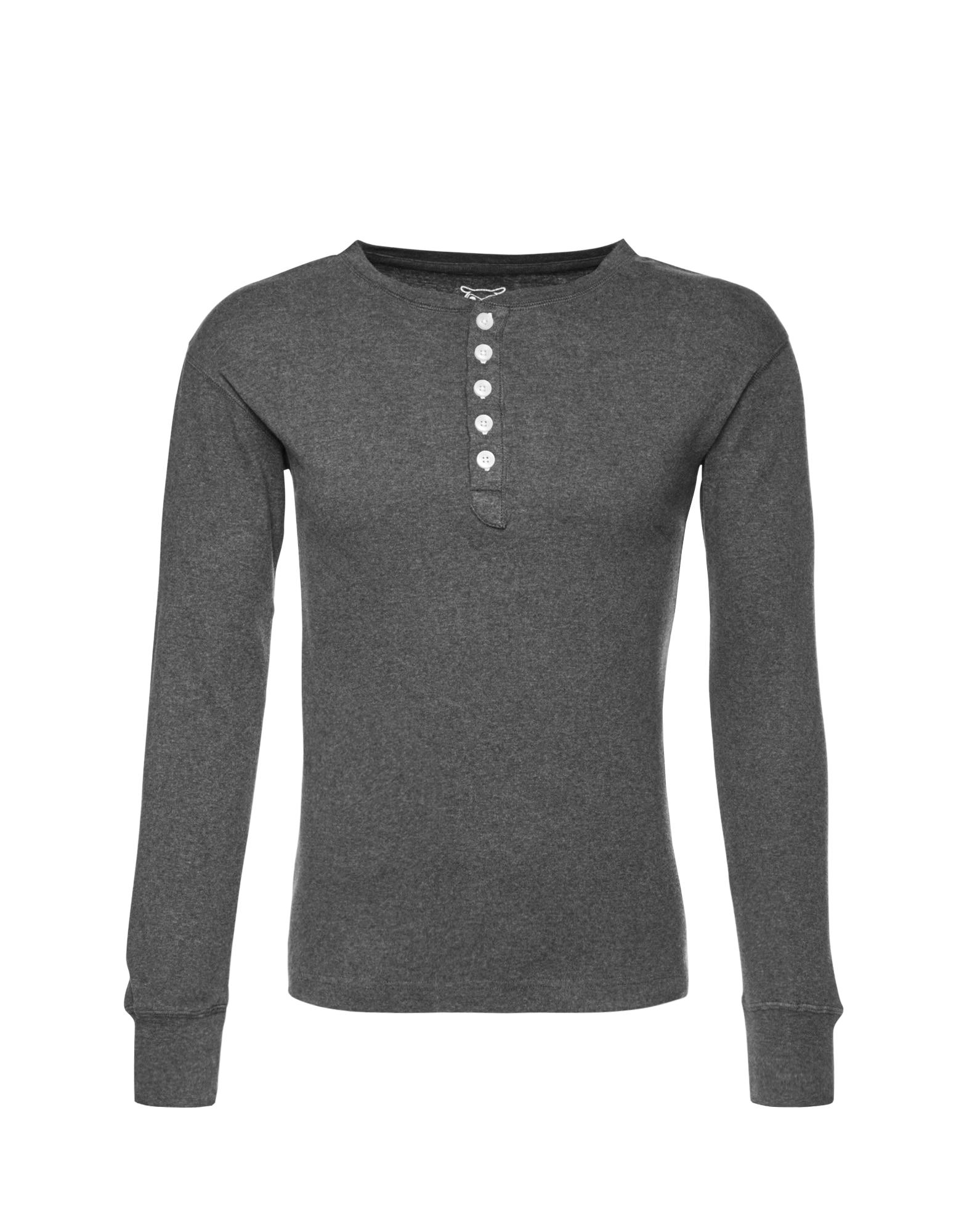 KnowledgeCotton Apparel Marškinėliai pilka