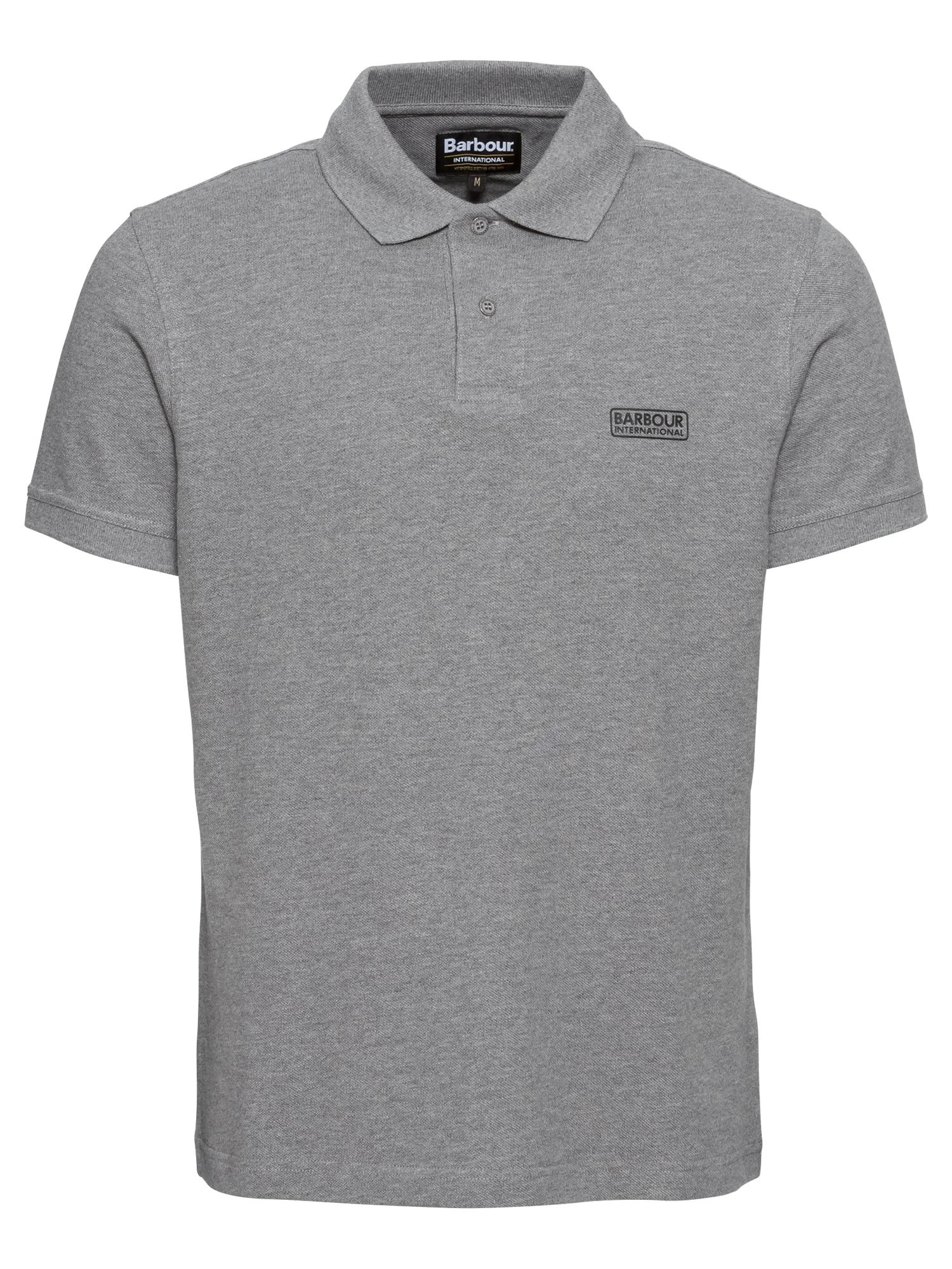 Barbour International Marškinėliai pilka