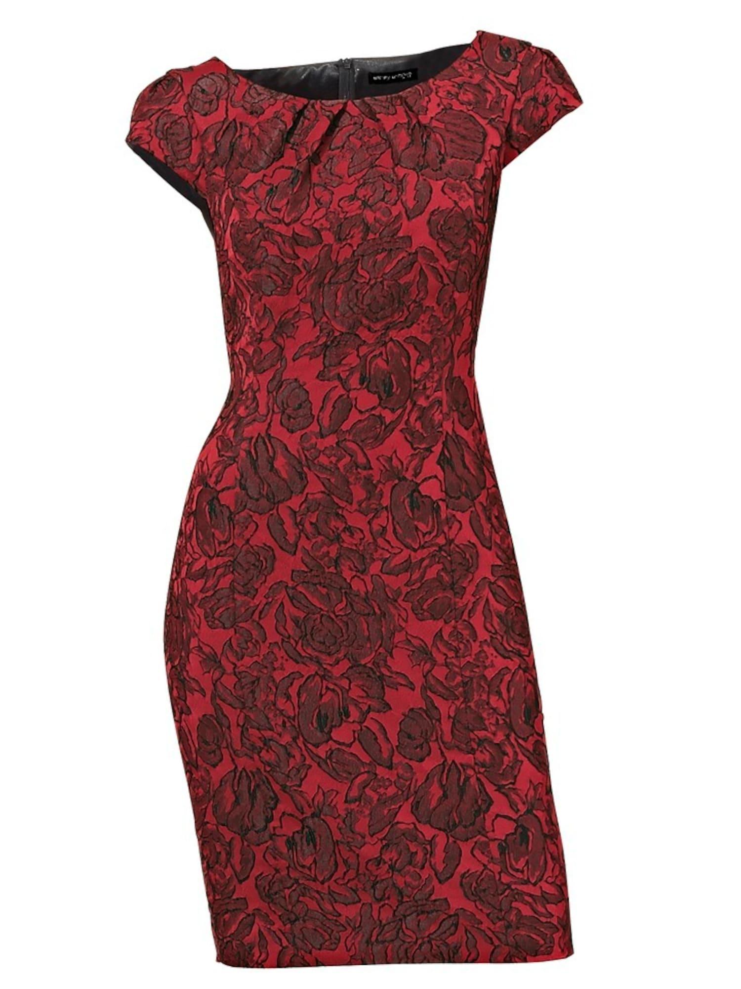 heine Pouzdrové šaty  červená / rubínově červená