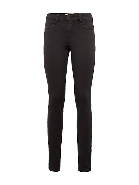 Hosen für Frauen - TOM TAILOR DENIM Hose 'Nela' dunkelgrau  - Onlineshop ABOUT YOU