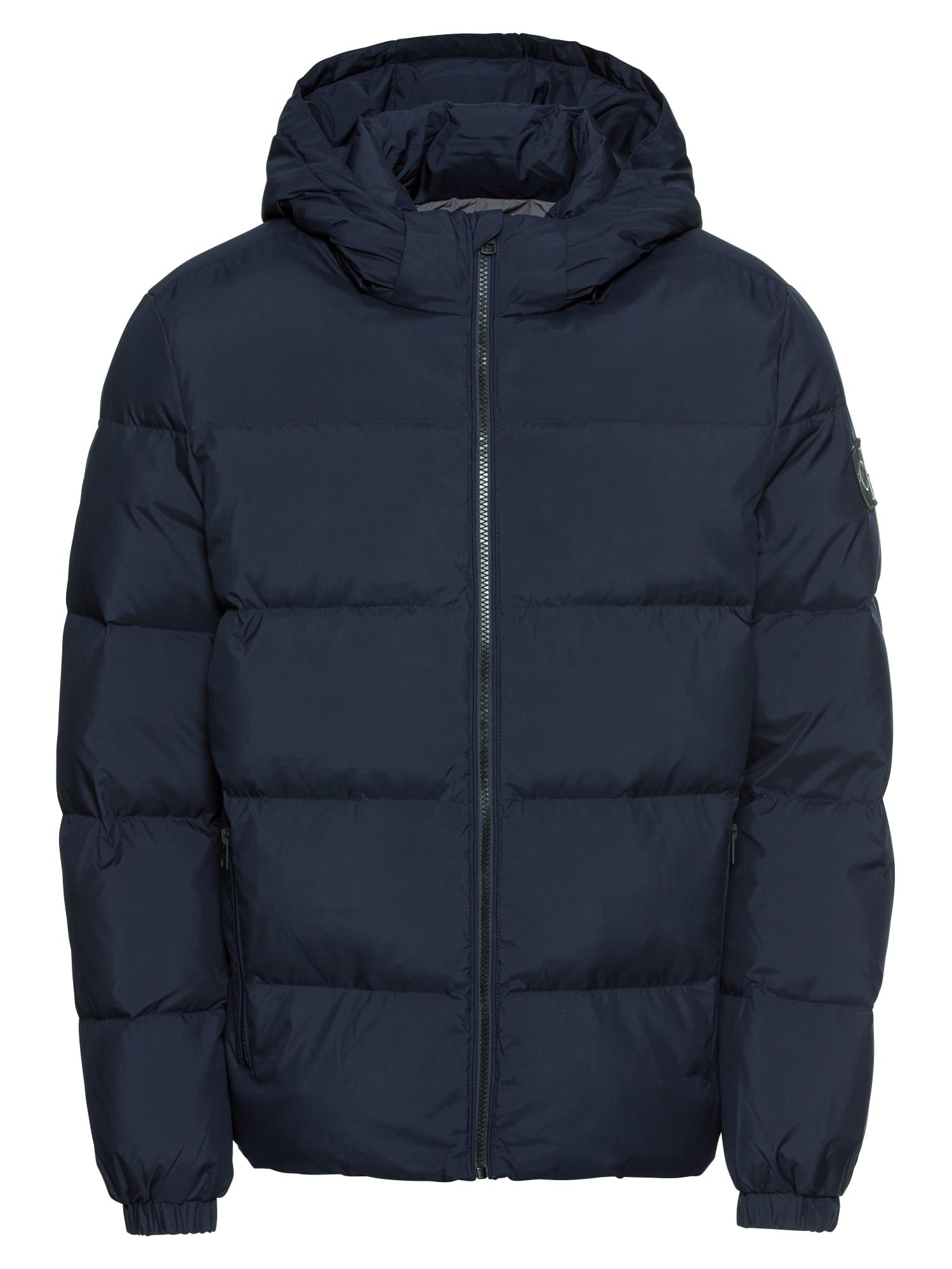 Calvin Klein Jeans Žieminė striukė nakties mėlyna