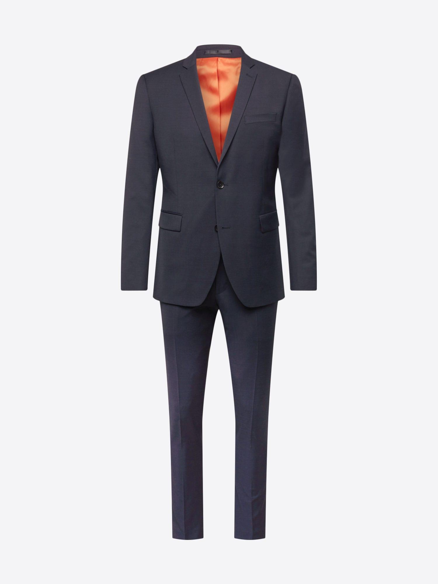 Esprit Collection, Herren Pak Student Special, kobaltblauw