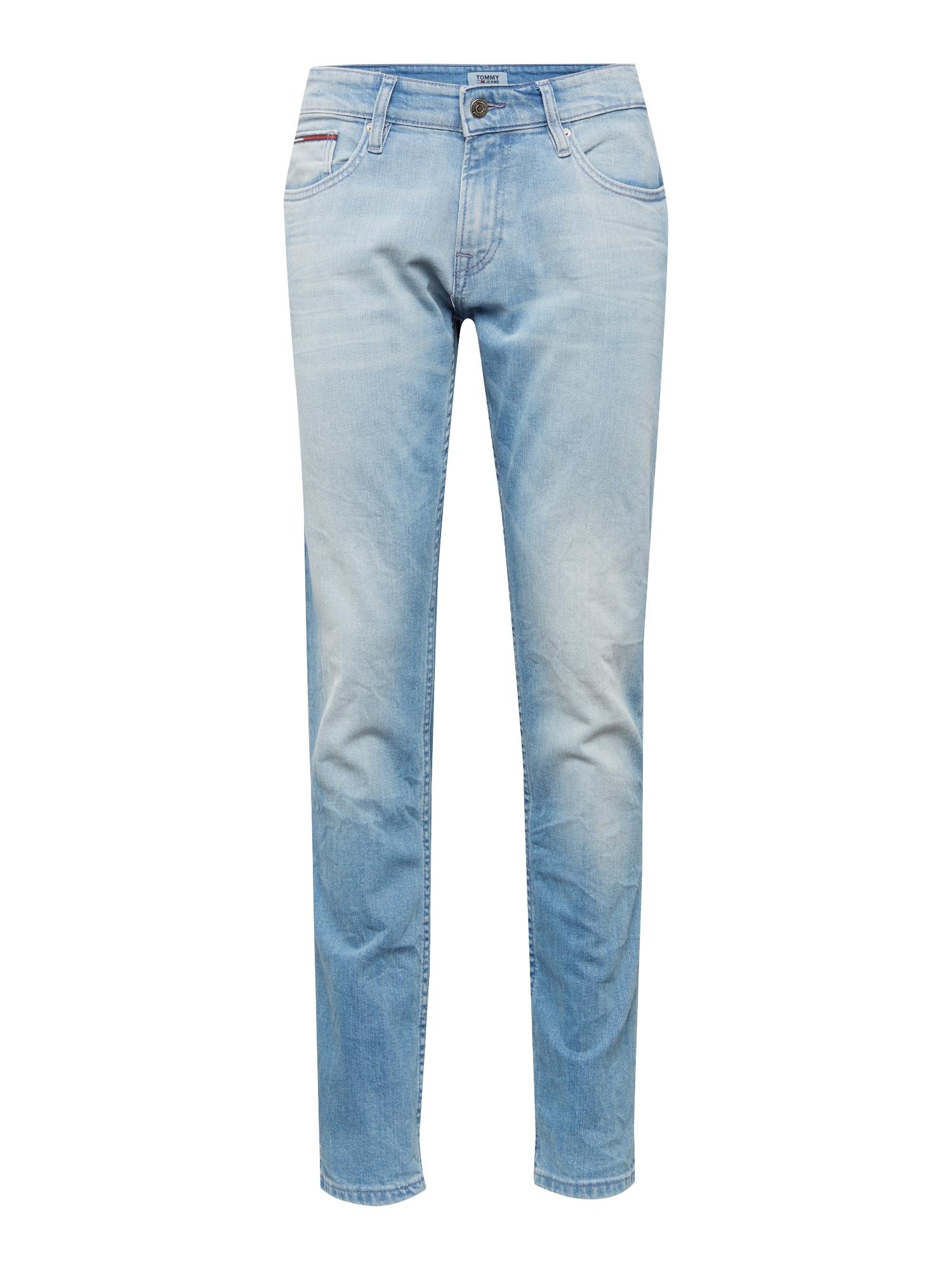 Tommy Jeans Džinsai 'Slim Scanton BELB' tamsiai (džinso) mėlyna