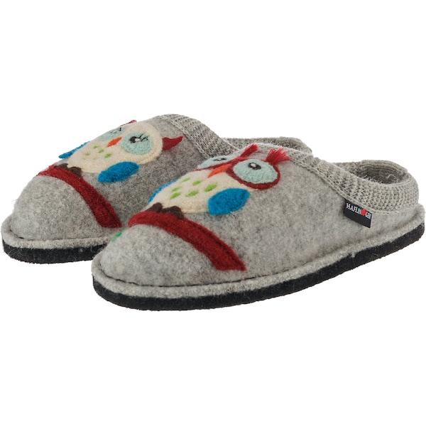 Hausschuhe für Frauen - HAFLINGER Pantoffeln 'Flair Olivia' grau  - Onlineshop ABOUT YOU