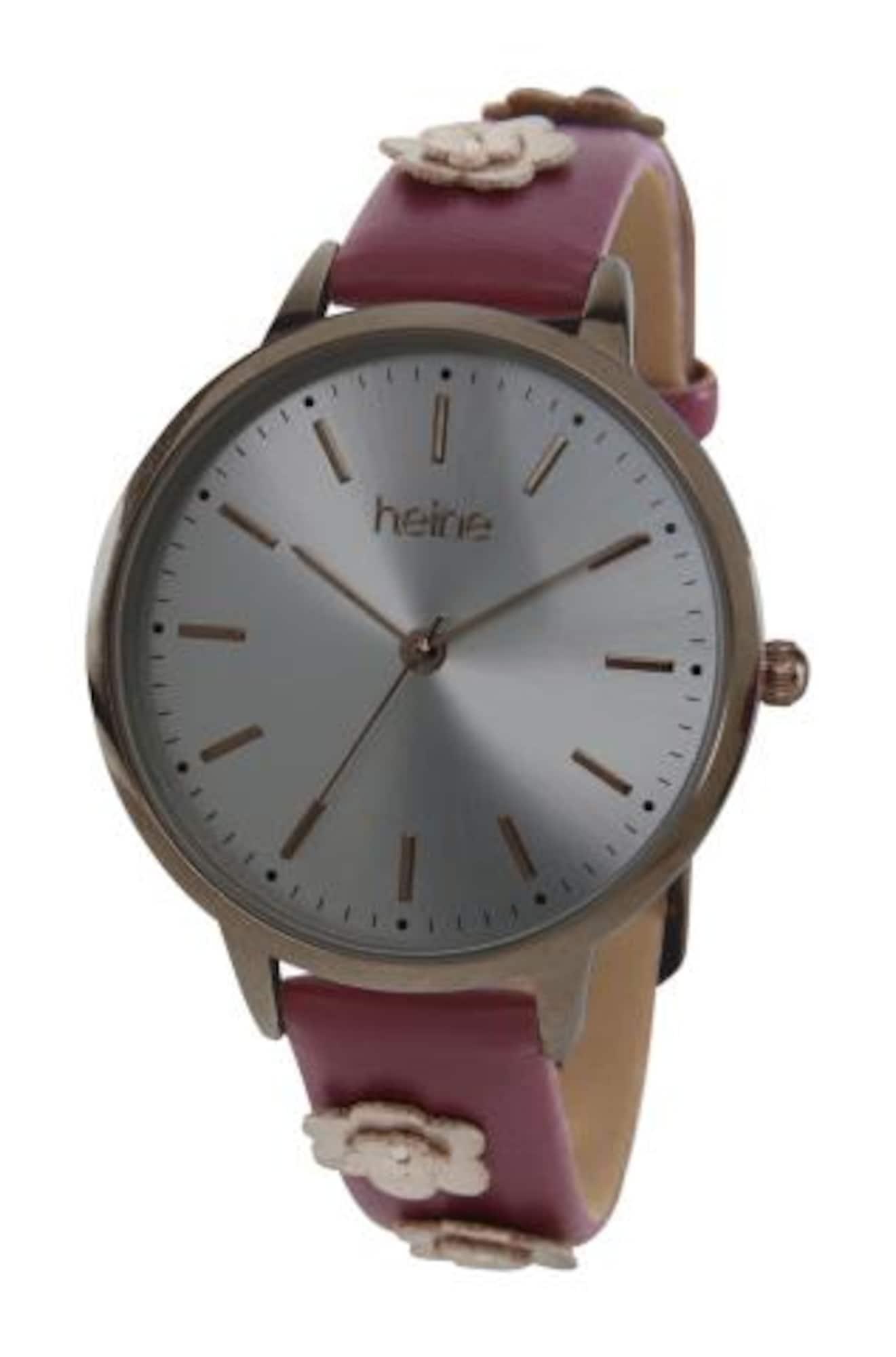 heine Analoginis (įprasto dizaino) laikrodis vyšninė spalva