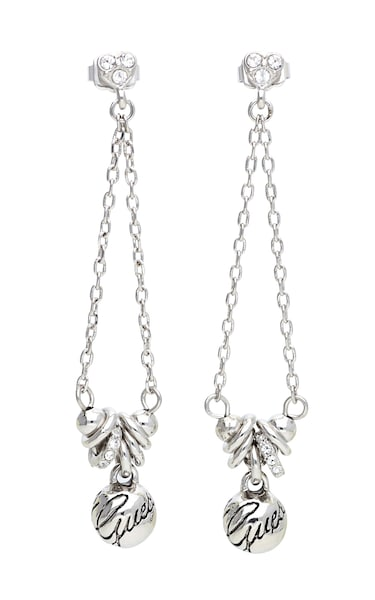 Ohrringe für Frauen - GUESS Ohrhänger 'UBE11313' silber  - Onlineshop ABOUT YOU