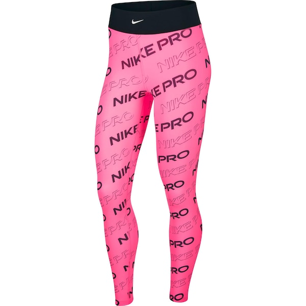 Hosen - Tights 'Pro' › Nike › pink schwarz  - Onlineshop ABOUT YOU