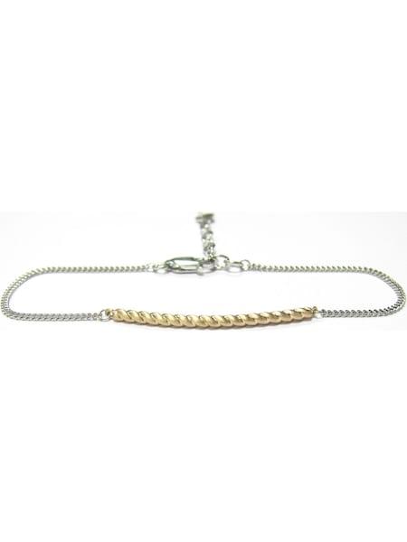 Armbaender - Armband 'Love' › Caï › gold silber  - Onlineshop ABOUT YOU