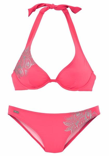 Bademode für Frauen - Bügel Bikini › VENICE BEACH › neonorange silber  - Onlineshop ABOUT YOU