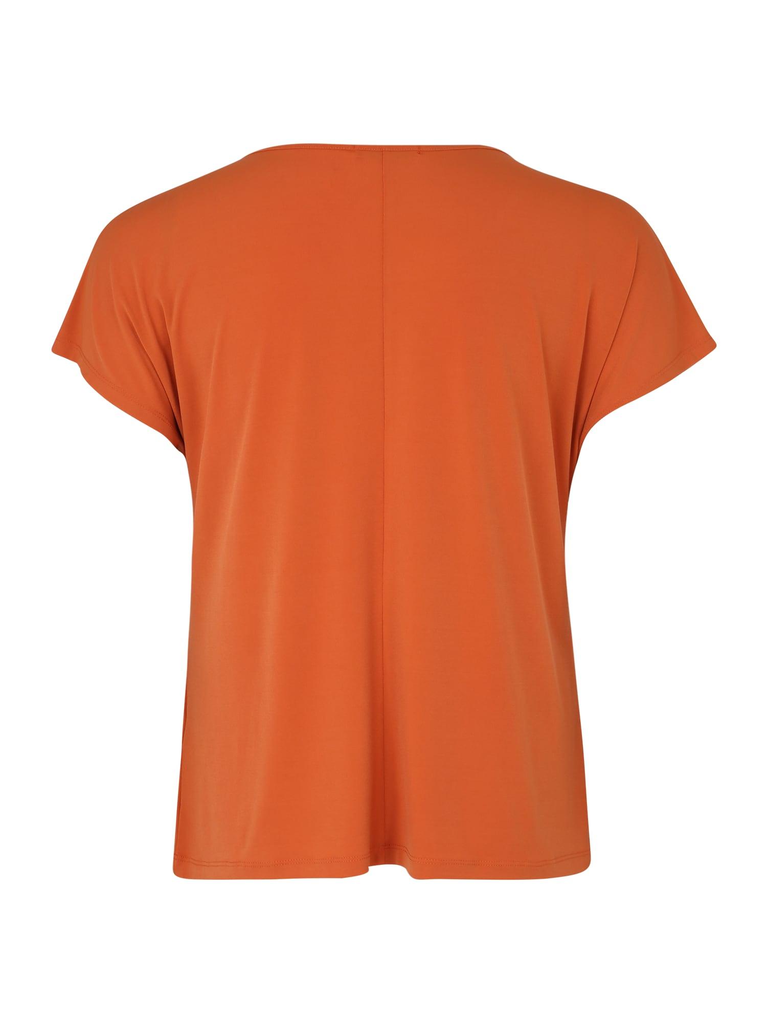 ABOUT YOU Curvy T-shirt 'Mandy'  aprikos