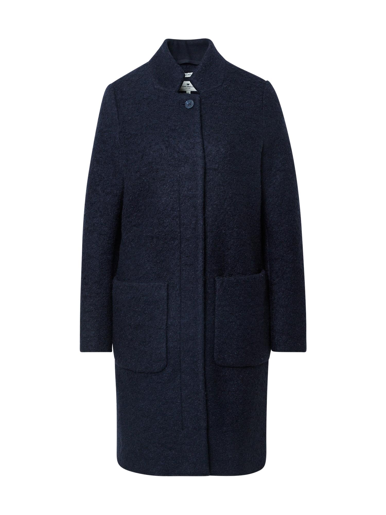 TOM TAILOR Demisezoninis paltas tamsiai mėlyna