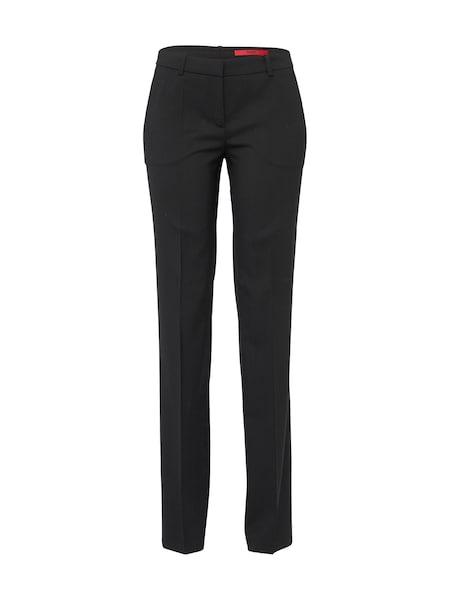 Hosen für Frauen - Stoffhose 'Hinass' › HUGO › schwarz  - Onlineshop ABOUT YOU