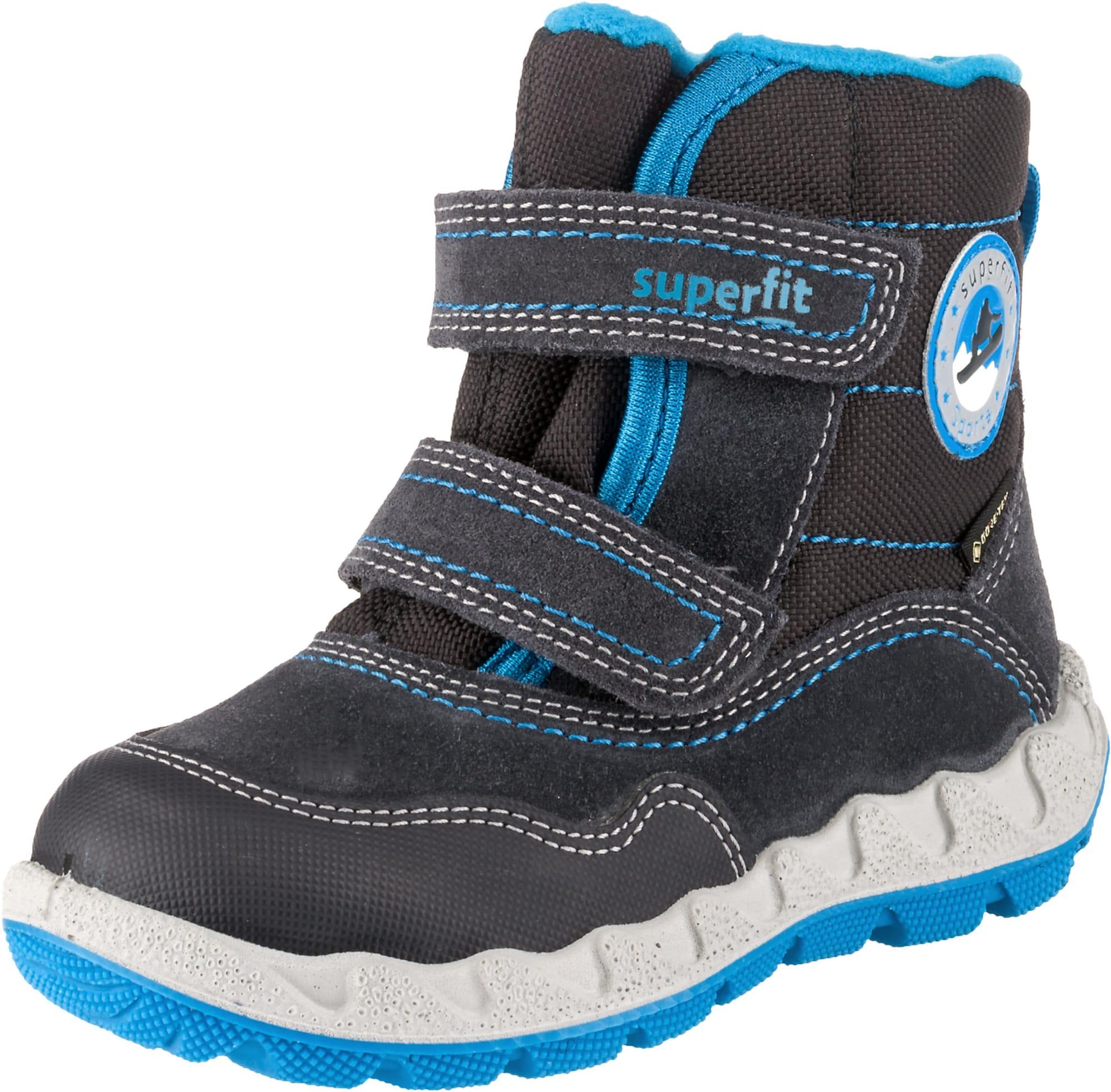 SUPERFIT Sniego batai mėlyna / grafito
