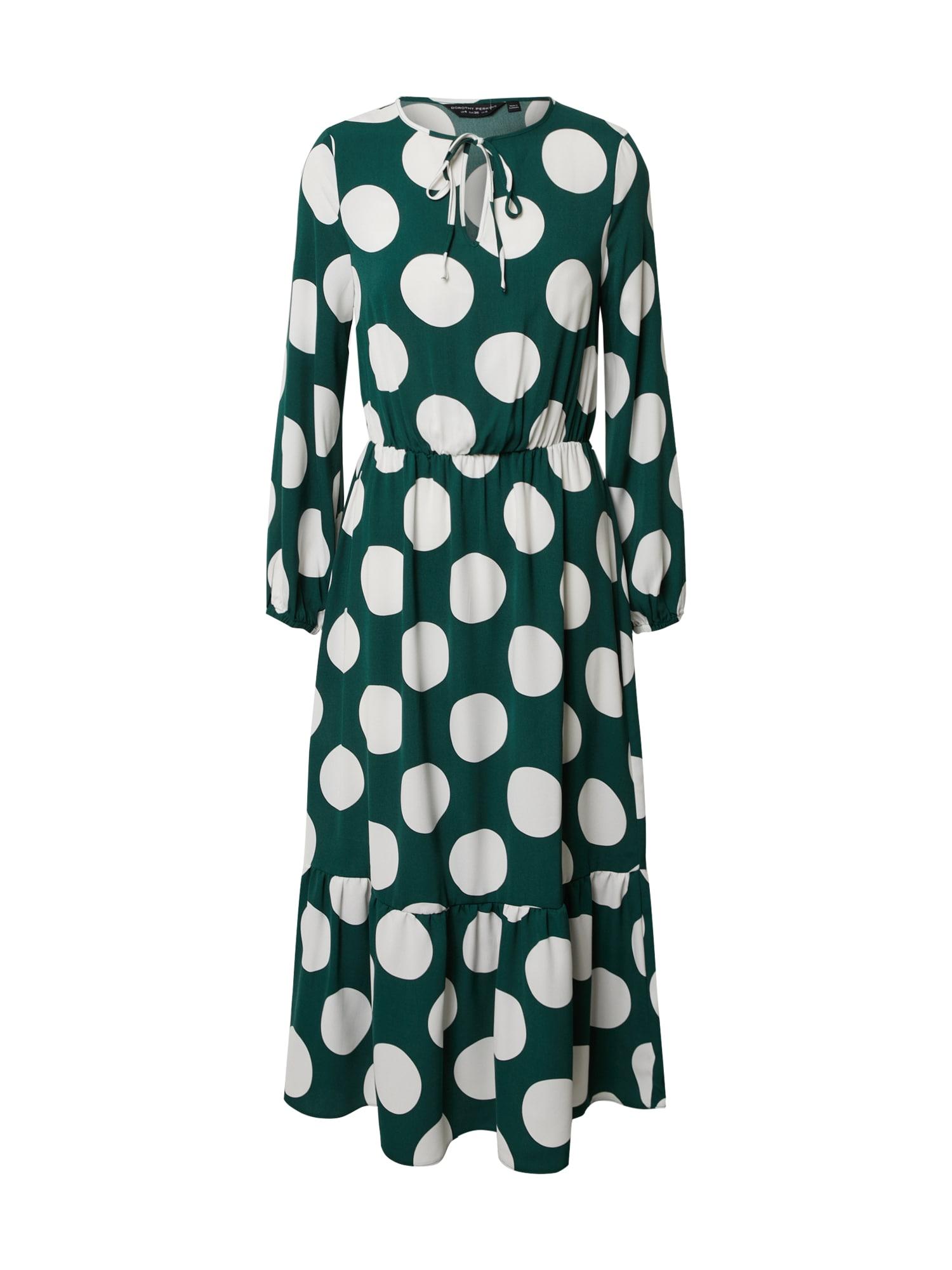 Dorothy Perkins Suknelė balta / žalia