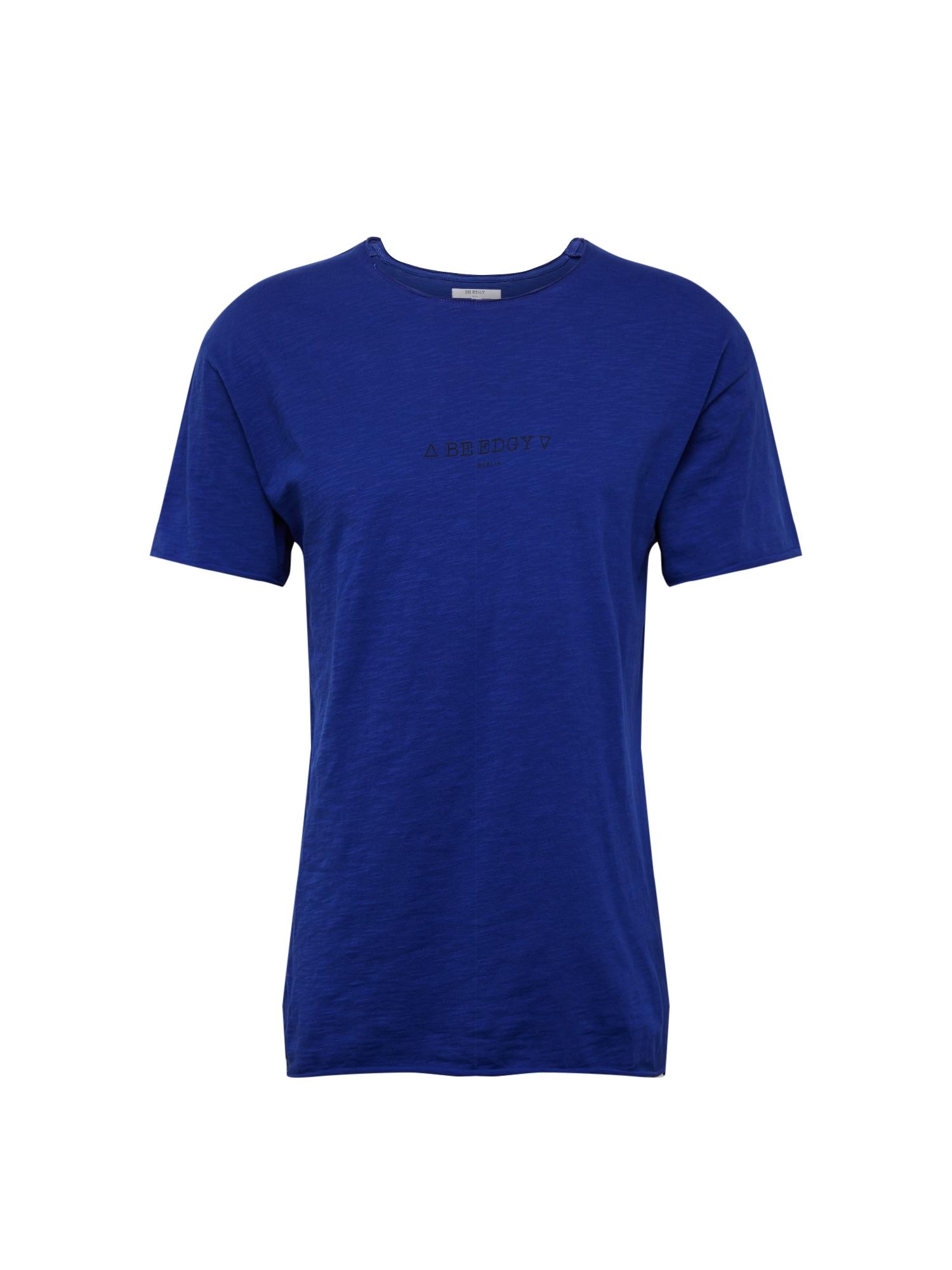 BE EDGY Marškinėliai 'BEdustin' mėlyna