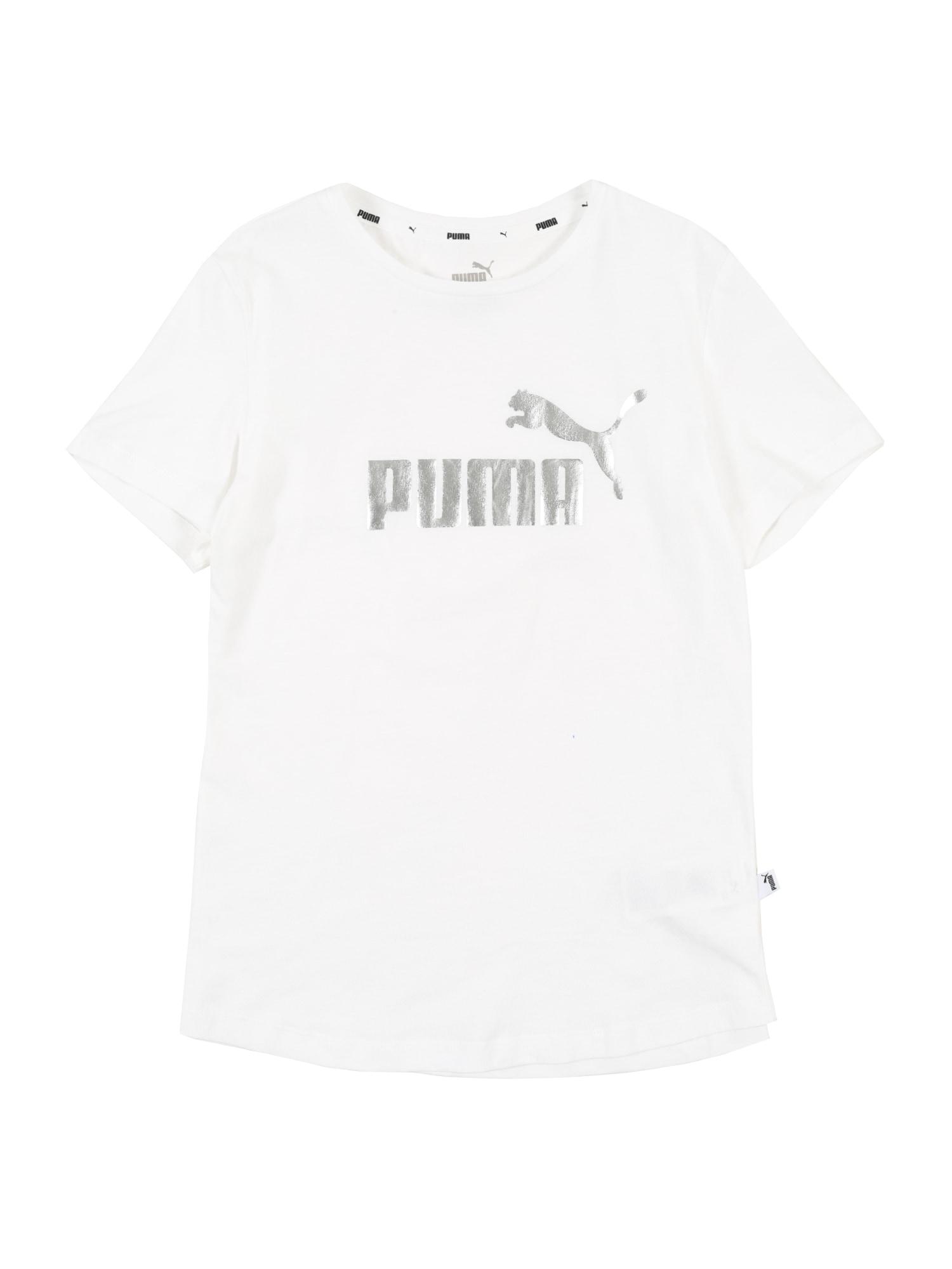 PUMA Sportiniai marškinėliai balta