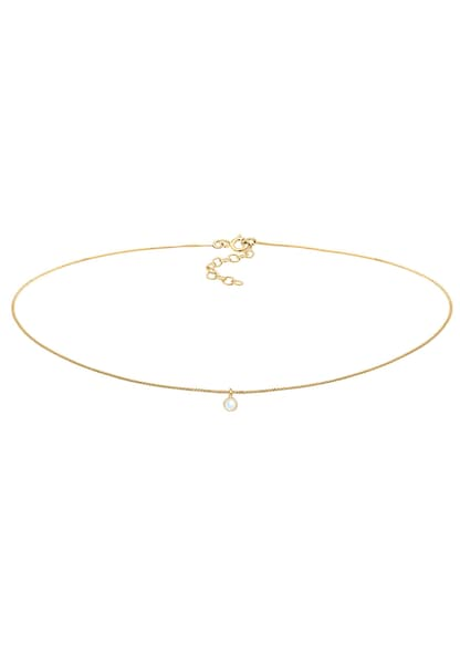 Ketten für Frauen - ELLI Halskette Choker, Edelsteinkette gold  - Onlineshop ABOUT YOU