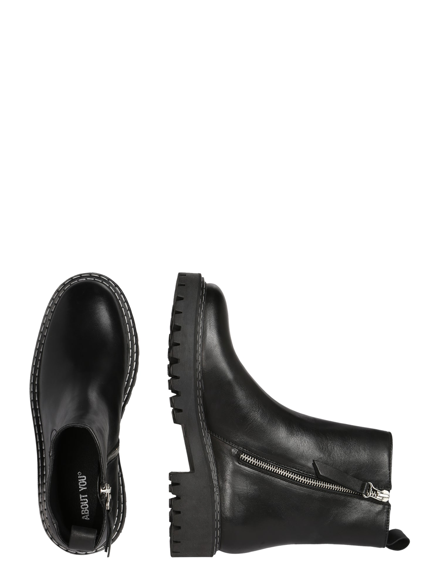 ABOUT YOU Chelsea boots 'Sandra'  svart