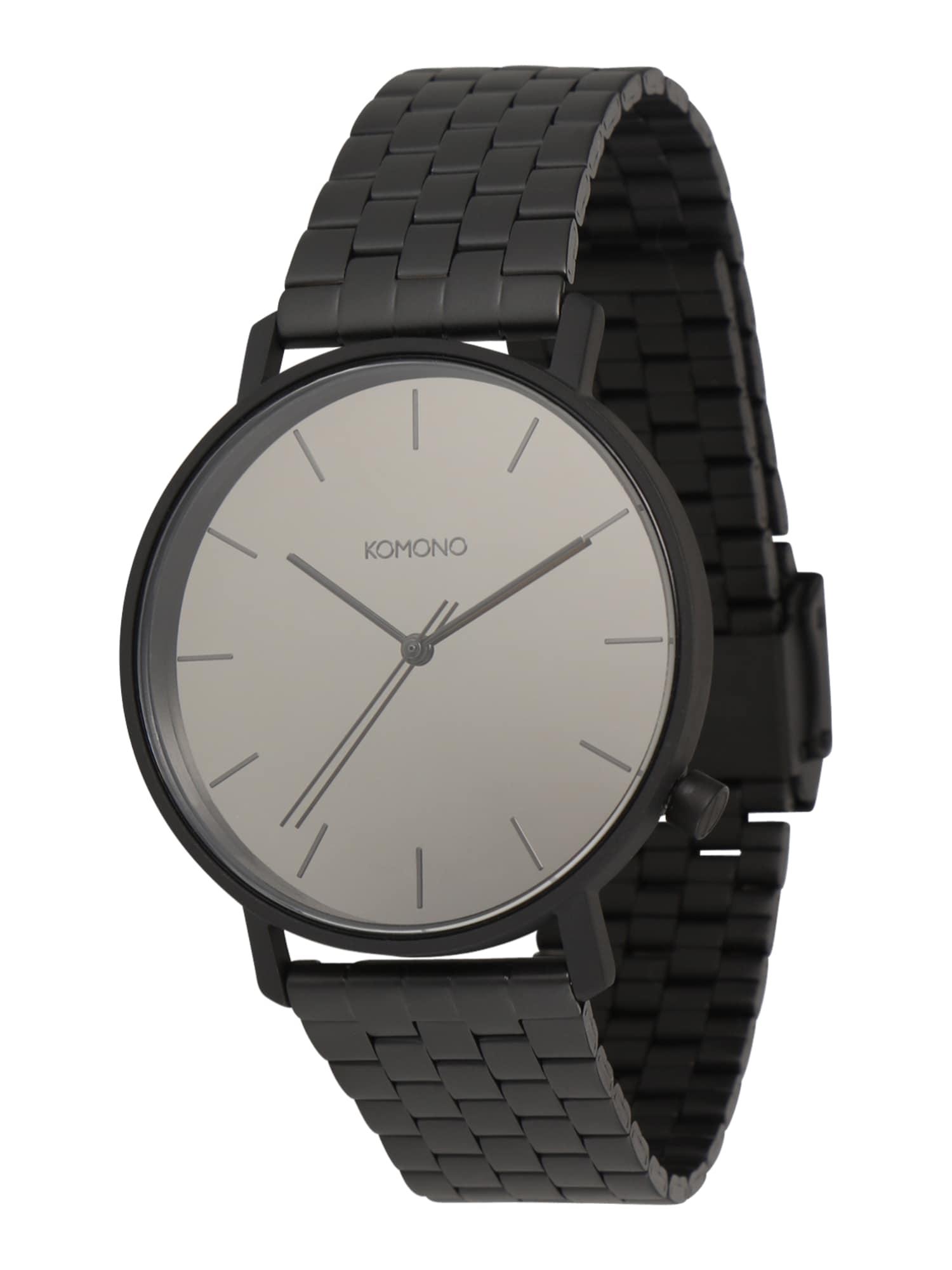 Analogové hodinky LEWIS ESTATE černá Komono