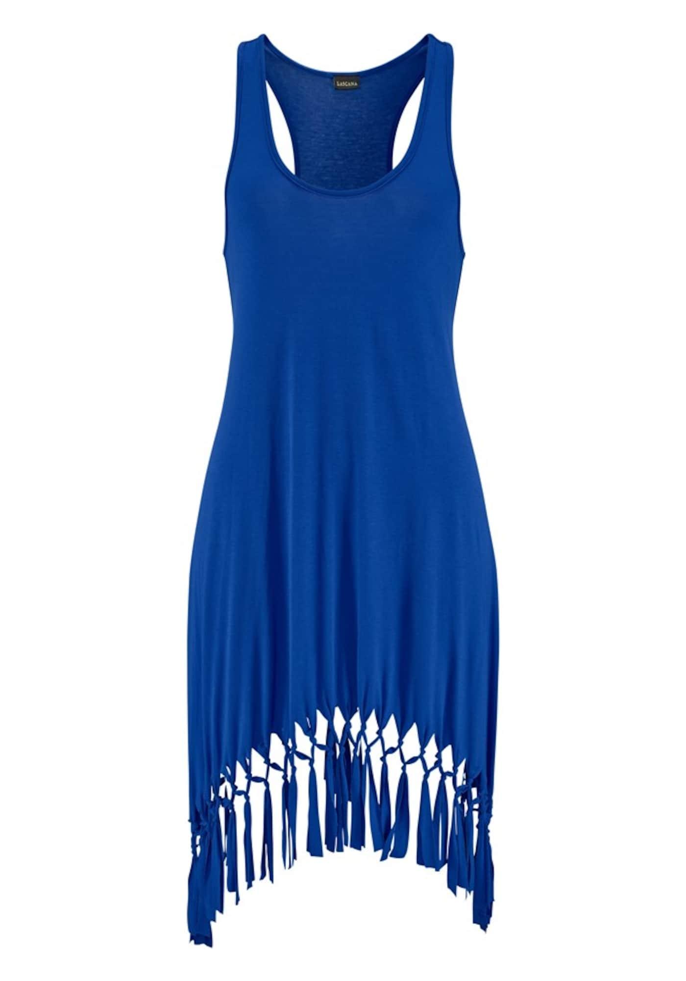 BEACH TIME Paplūdimio suknelė mėlyna
