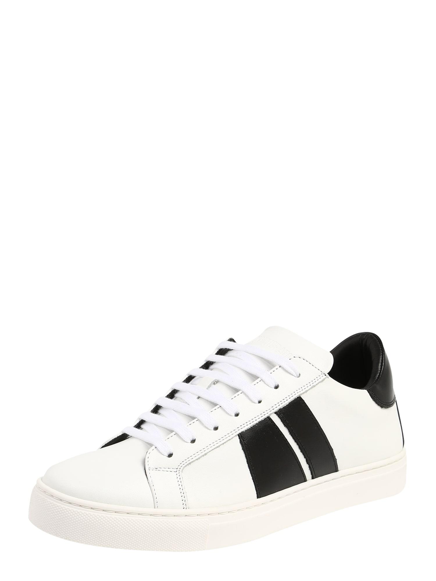 ANTONY MORATO Sneaker low 'Race'  negru / alb