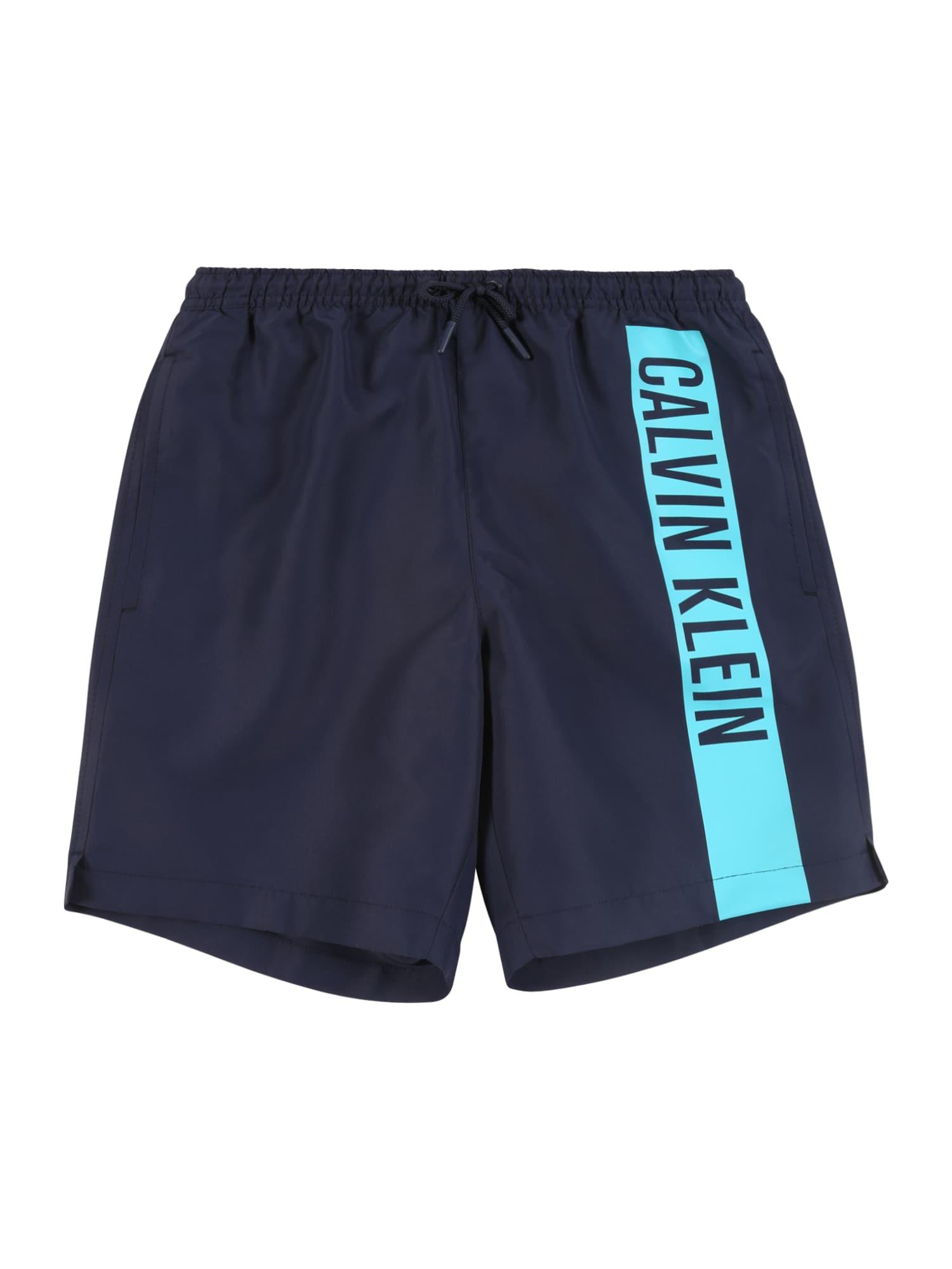 Calvin Klein Swimwear Maudymosi trumpikės tamsiai mėlyna