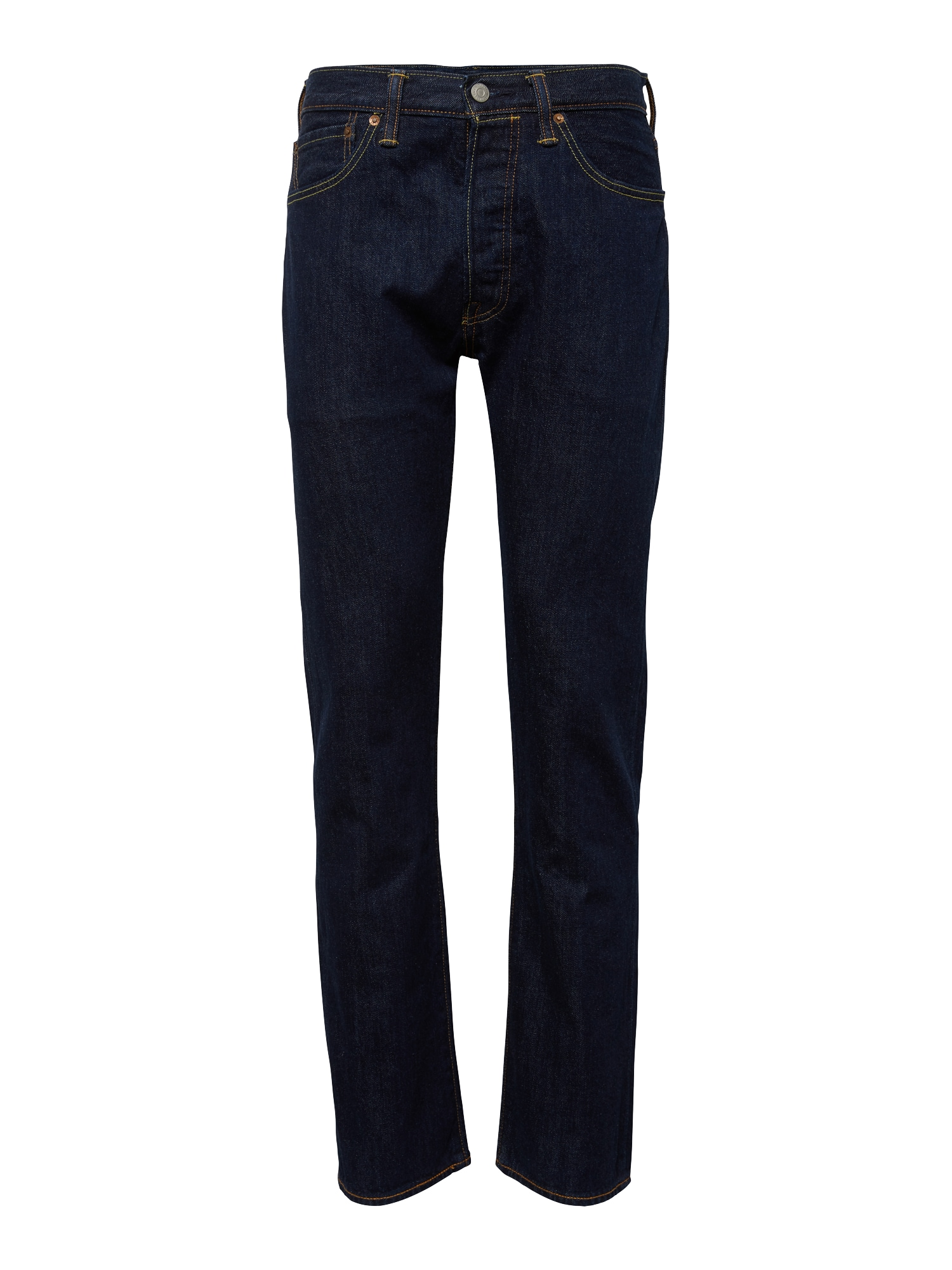 LEVI'S Džinsai '501 ORIGINAL FIT' tamsiai (džinso) mėlyna