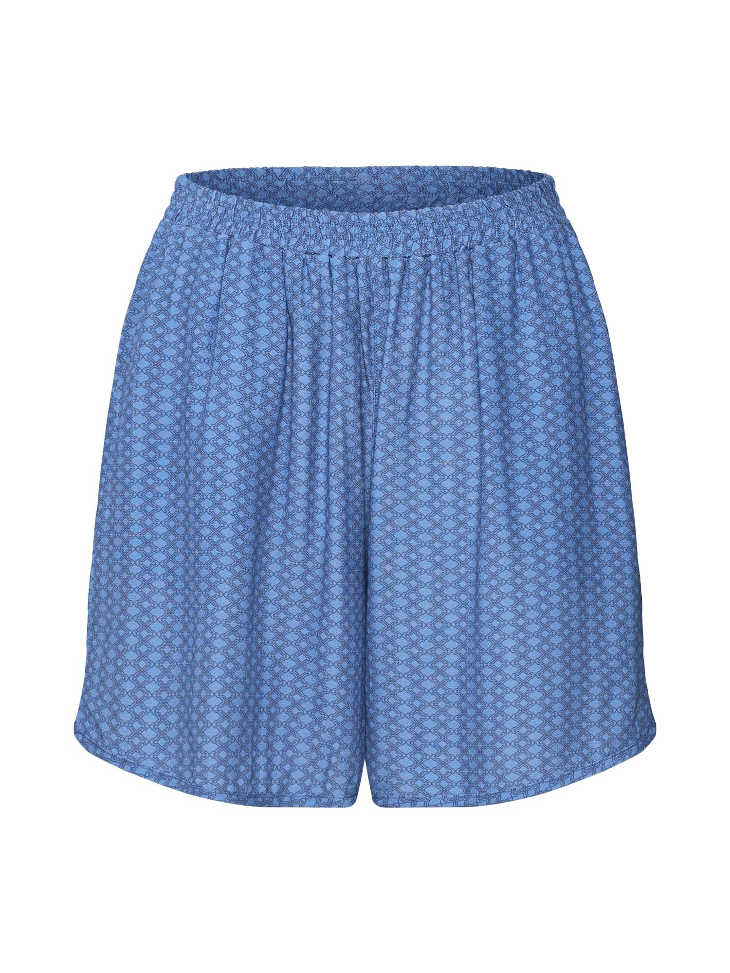 basic apparel Kelnės 'Elly' mėlyna