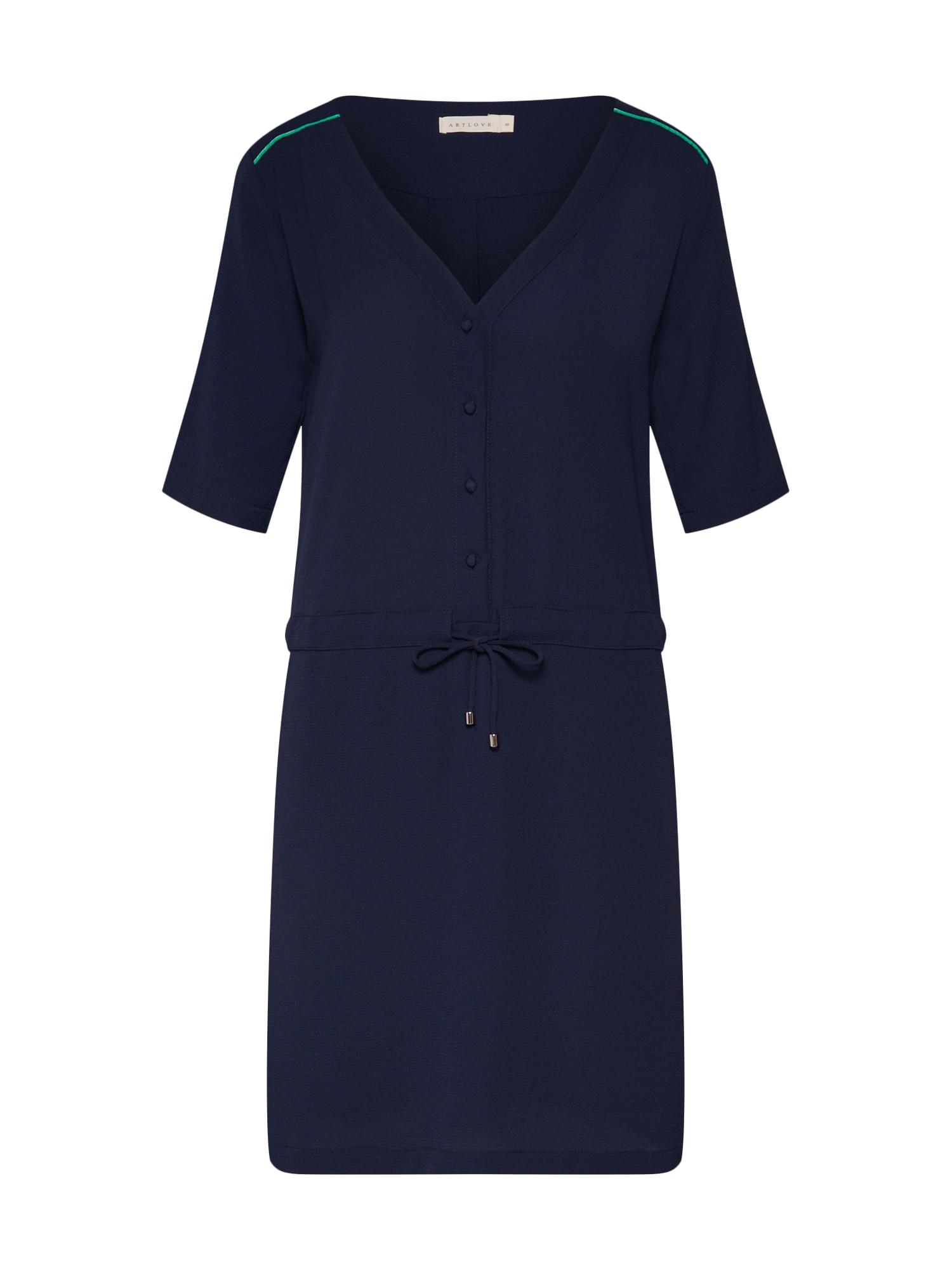 Šaty námořnická modř ARTLOVE Paris