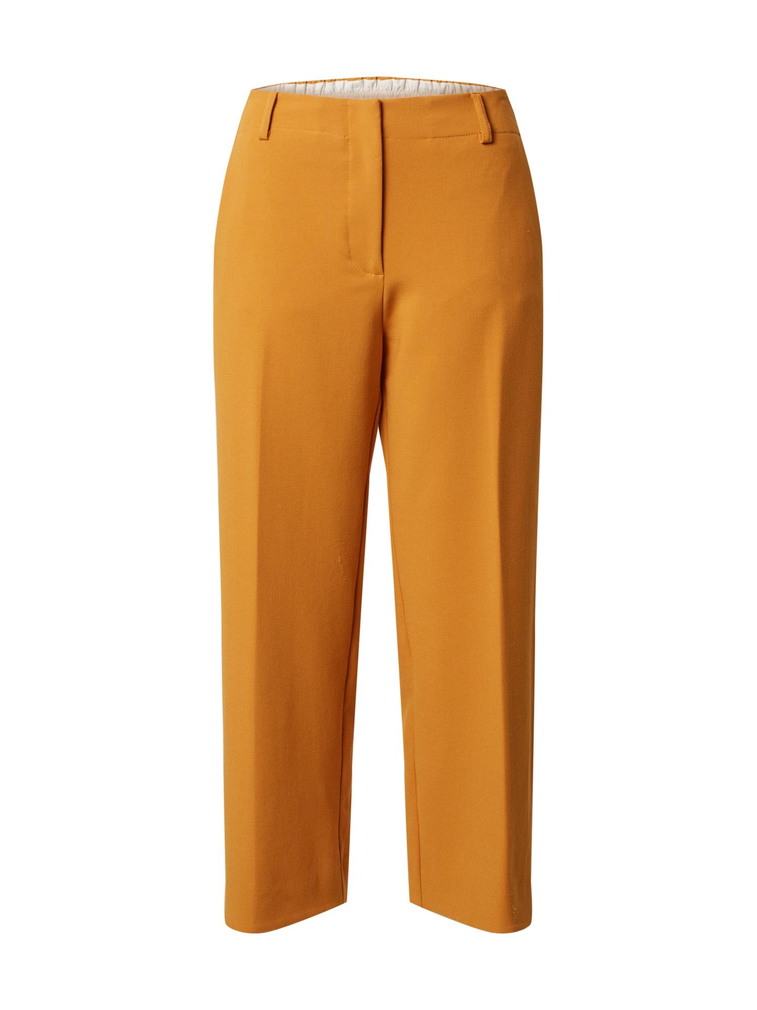Ottod'Ame Kelnės su kantu medaus spalva
