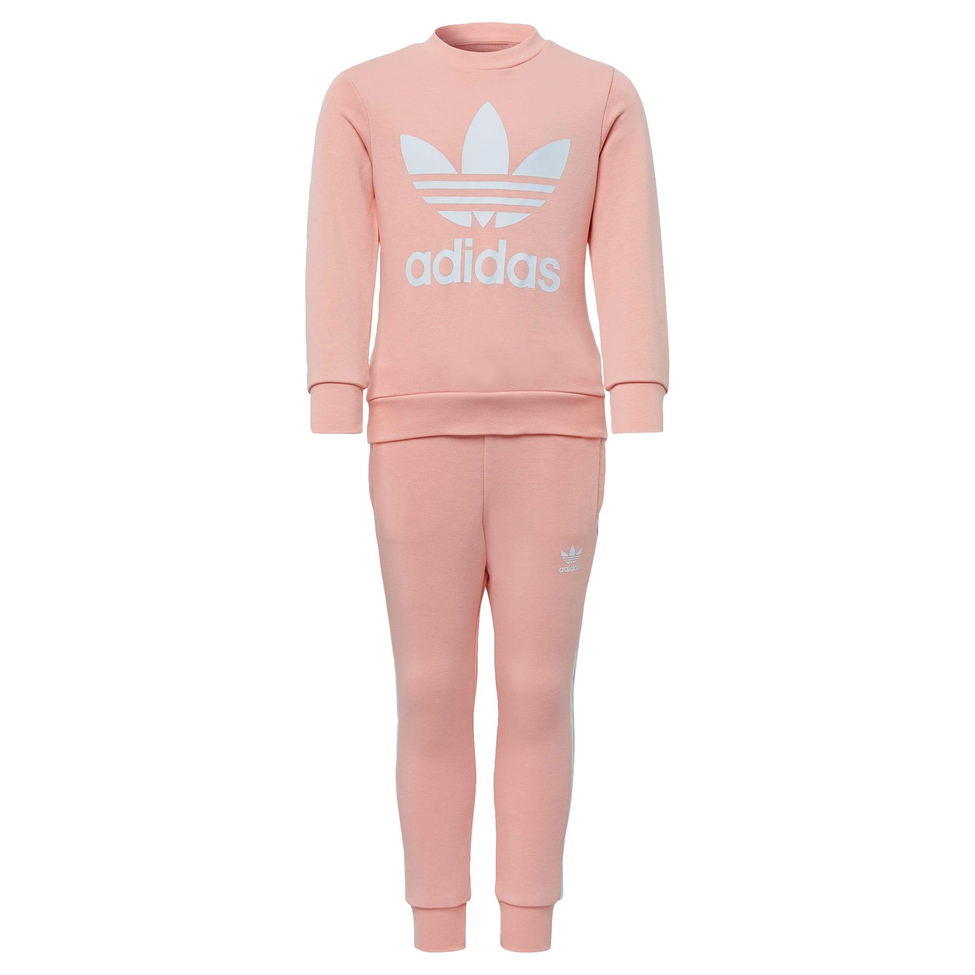 ADIDAS ORIGINALS Rinkinys balta / ryškiai rožinė spalva