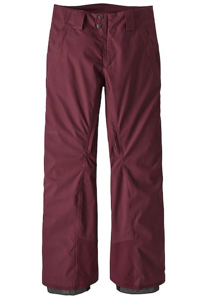 Hosen für Frauen - PATAGONIA Snowboardhose 'Snowbelle' weinrot  - Onlineshop ABOUT YOU