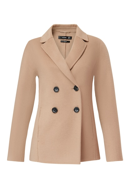 Jacken für Frauen - HALLHUBER Blazerjacke camel  - Onlineshop ABOUT YOU