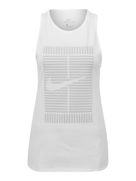 Sportmode für Frauen - NIKE Sportshirt 'TOMBOY LOGO' weiß  - Onlineshop ABOUT YOU
