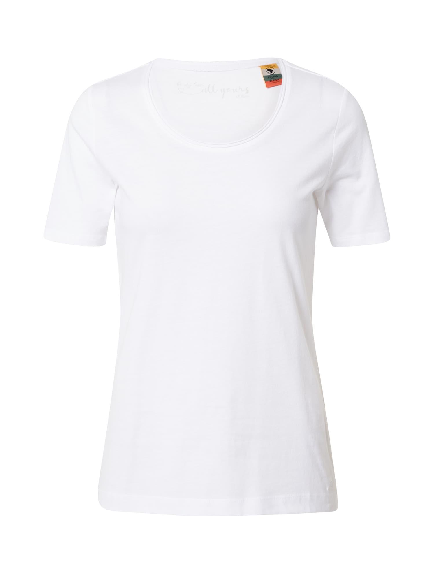 s.Oliver Shirt  bílá