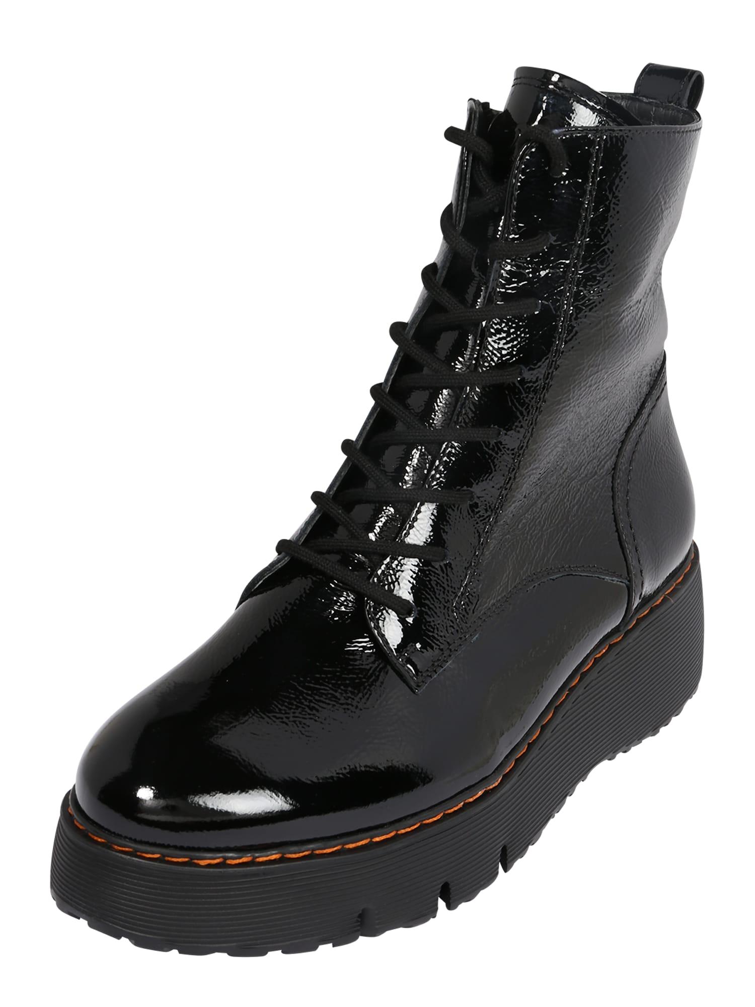 Paul Green Suvarstomieji kulkšnis dengiantys batai juoda