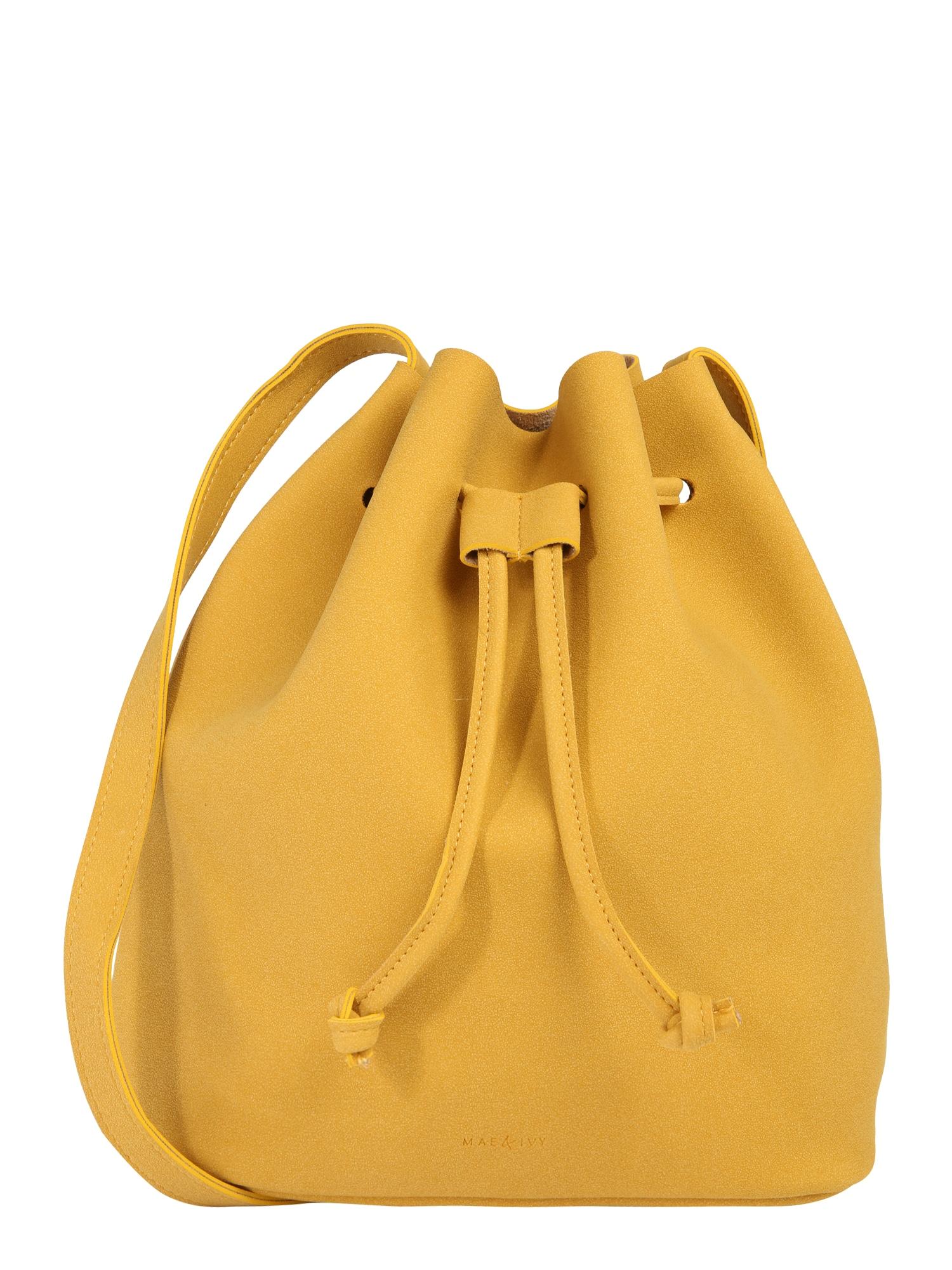 Vak Mila Bucket Bag žlutá Mae & Ivy