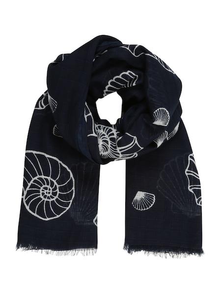 Schals für Frauen - UNMADE Copenhagen Schal 'Pilar' navy weiß  - Onlineshop ABOUT YOU