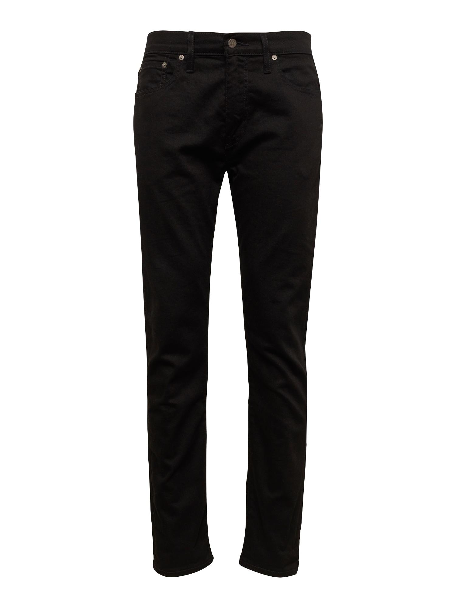 LEVI'S Džíny '502™ REGULAR TAPER'  černá džínovina