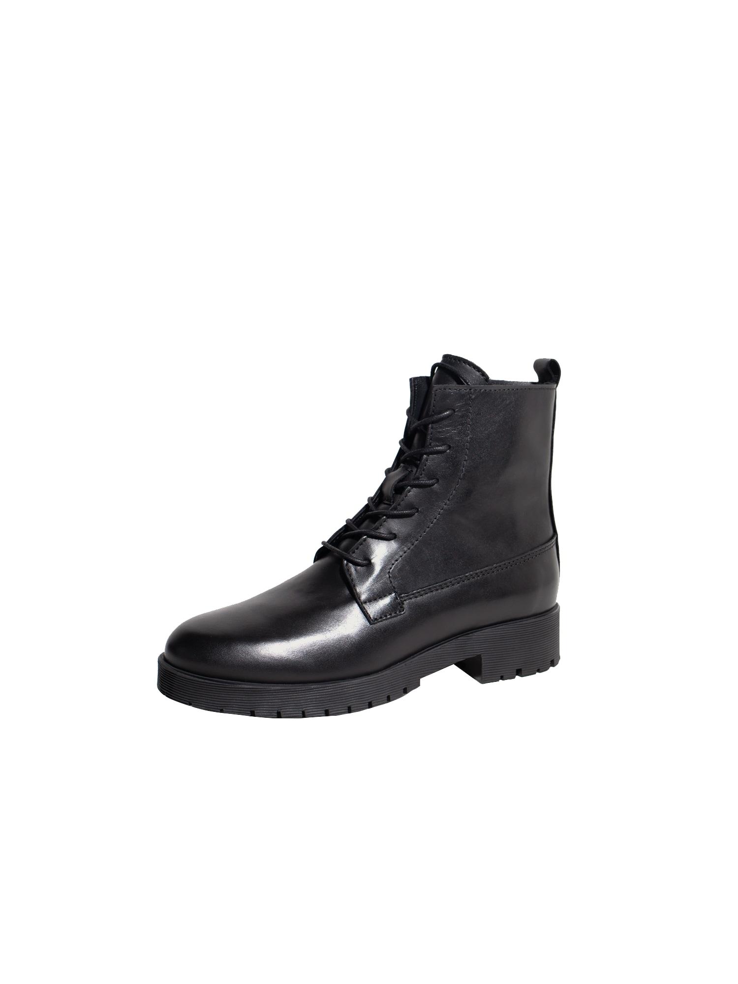 EDITED Suvarstomieji kulkšnis dengiantys batai 'Fariza' juoda
