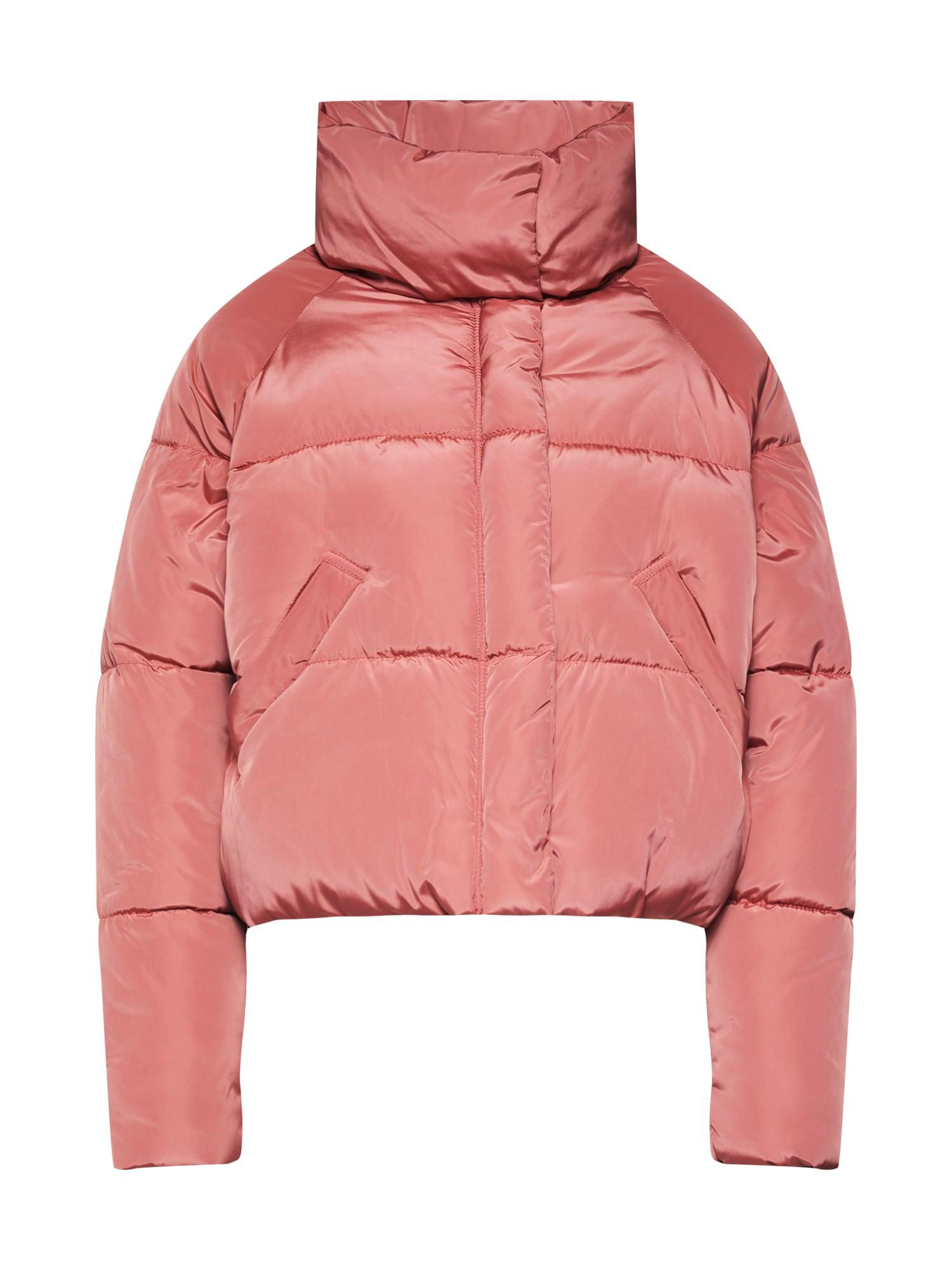 Boohoo Demisezoninė striukė lašišų spalva / ryškiai rožinė spalva