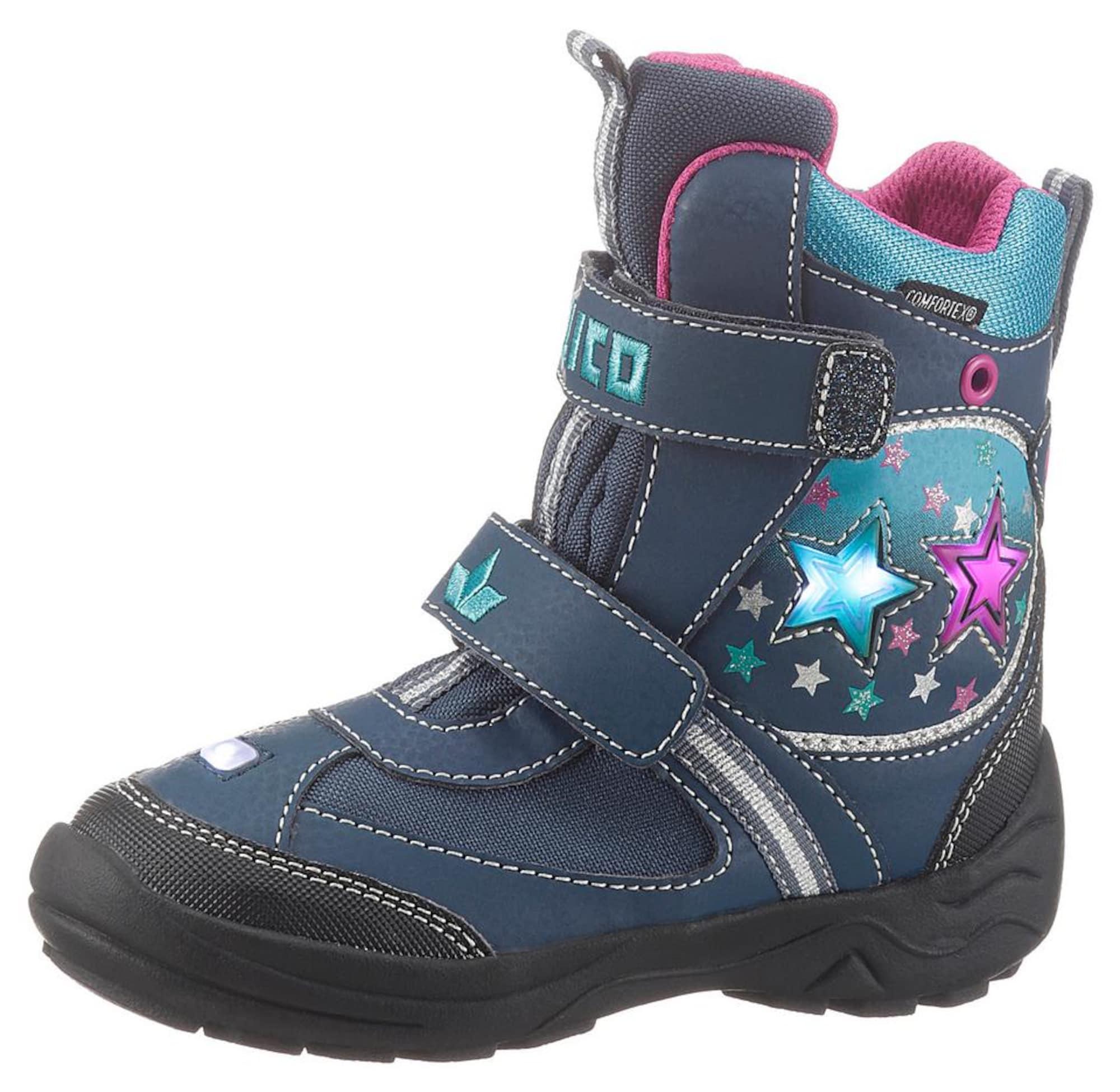 LICO Auliniai batai su kulniuku 'Stern' tamsiai mėlyna