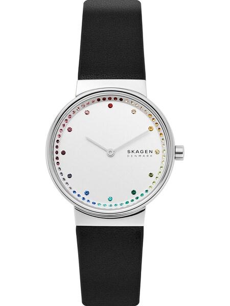 Uhren - Uhr › skagen › mischfarben schwarz weiß  - Onlineshop ABOUT YOU