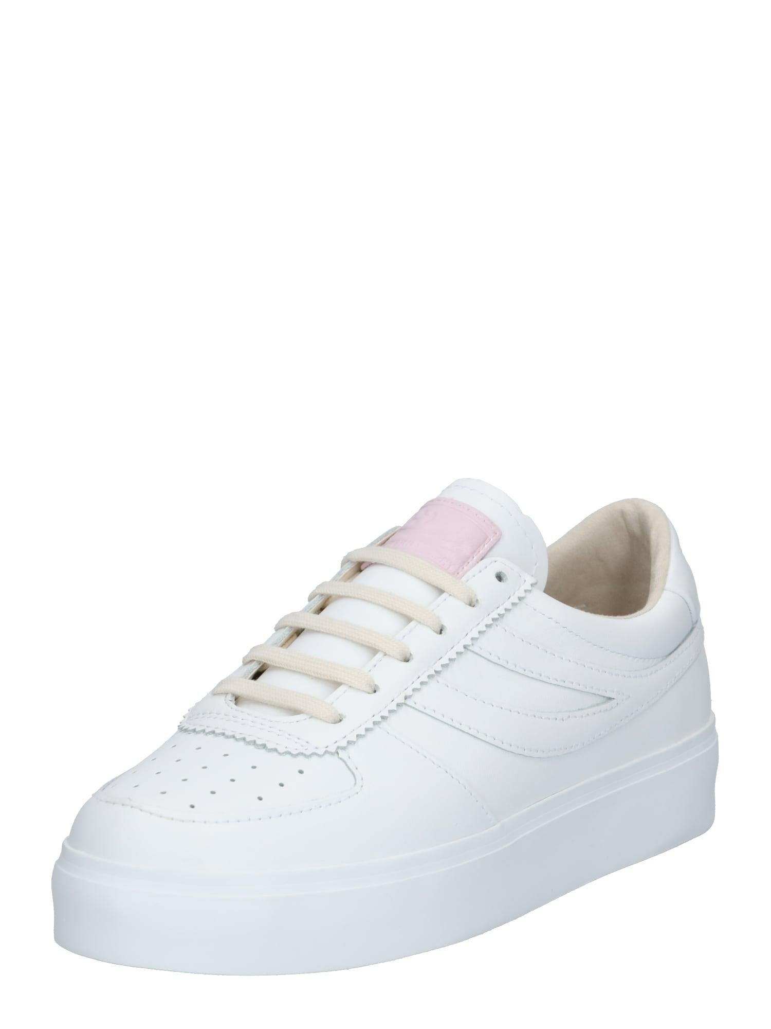 SUPERGA Tenisky 'Seattle 3'  bílá / pastelově růžová