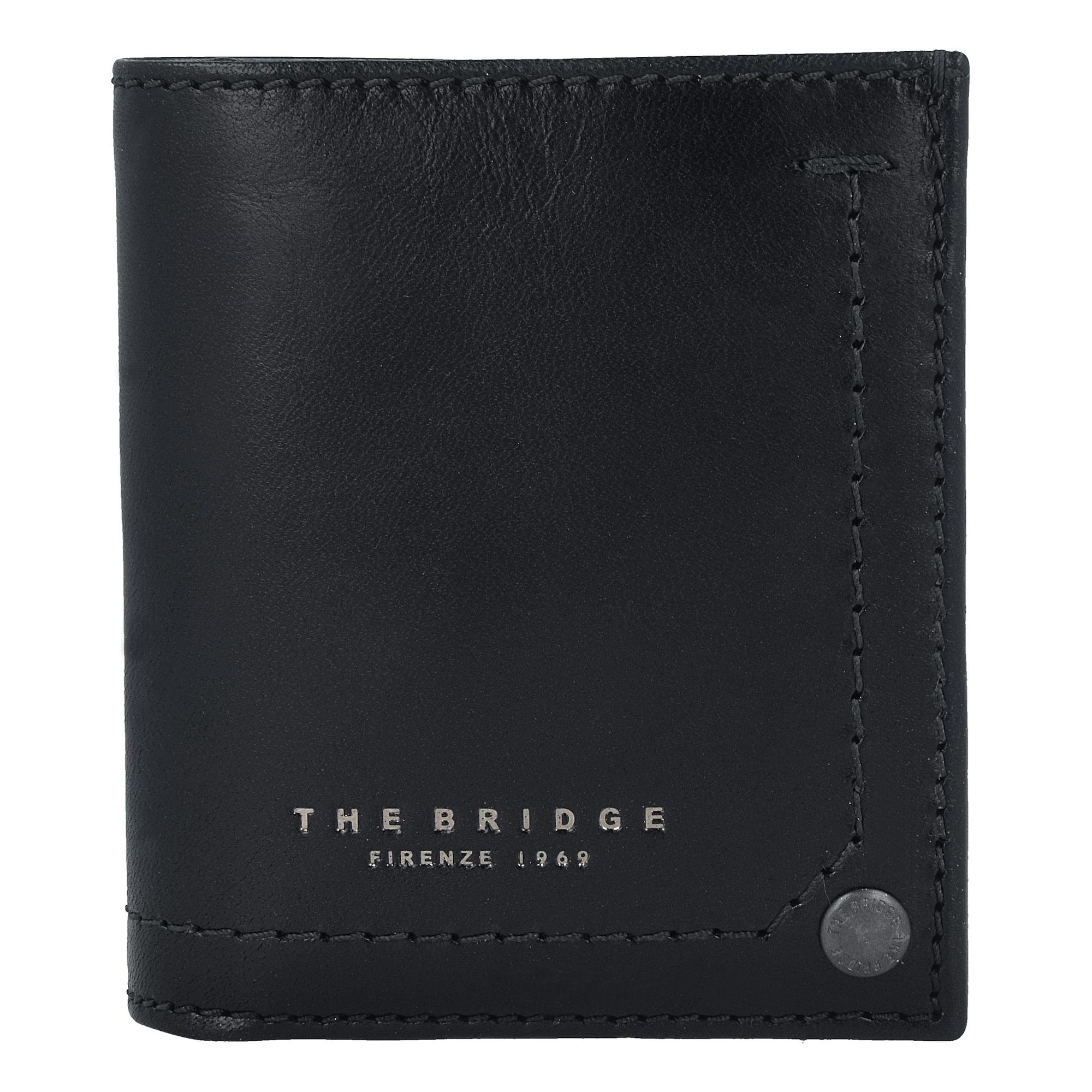'Kallio' Geldbörse Leder 9 cm   Accessoires > Portemonnaies > Geldbörsen   The Bridge