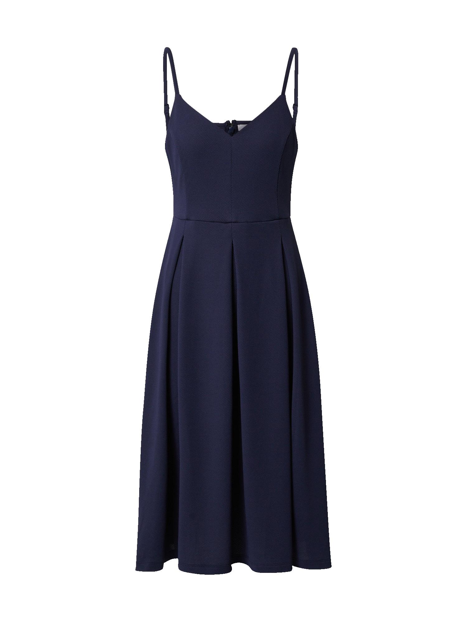 ABOUT YOU Kokteilinė suknelė 'Cosima' tamsiai mėlyna