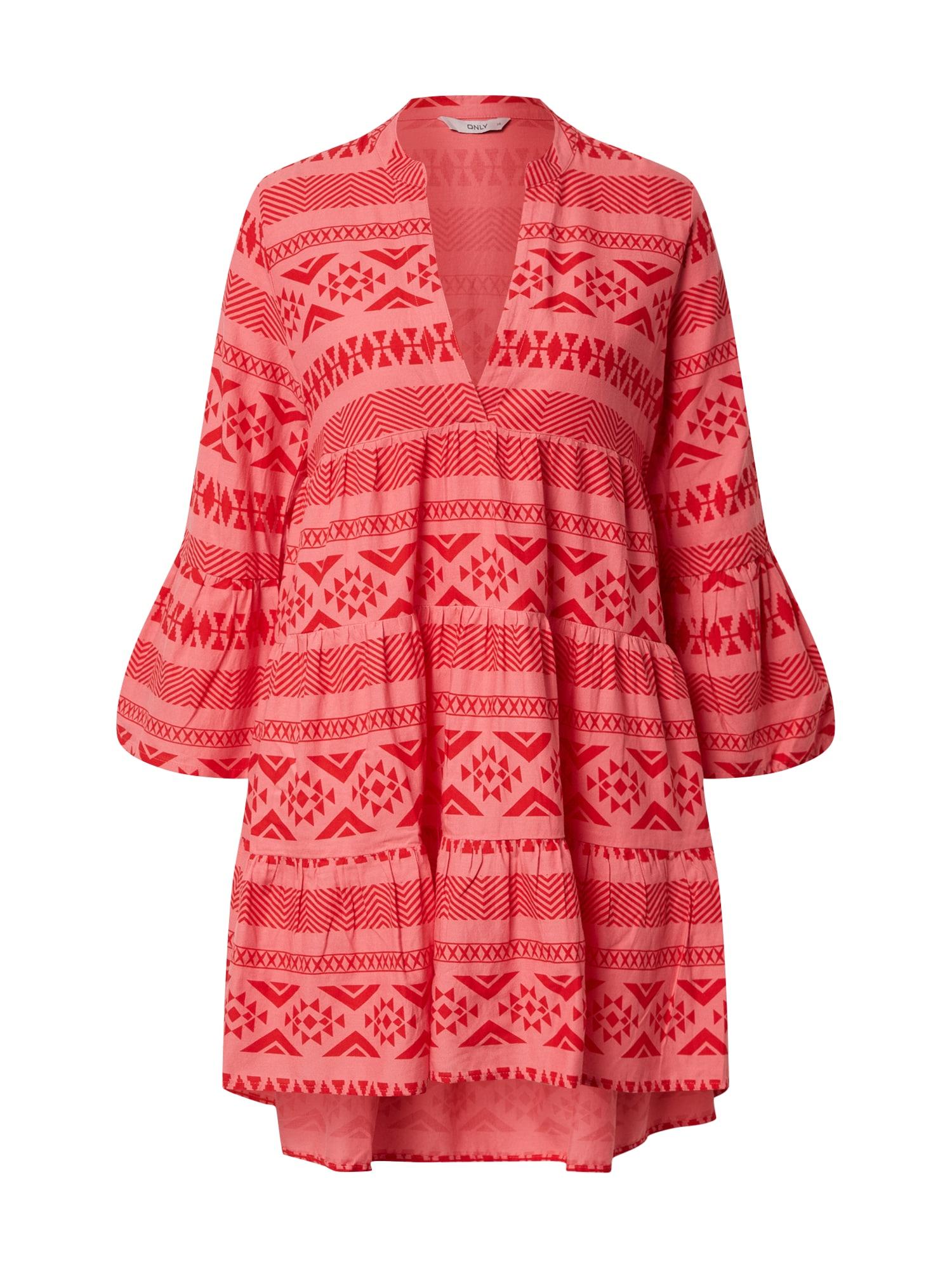 ONLY Plážové šaty 'LUCCA MU ATHENA'  ružová