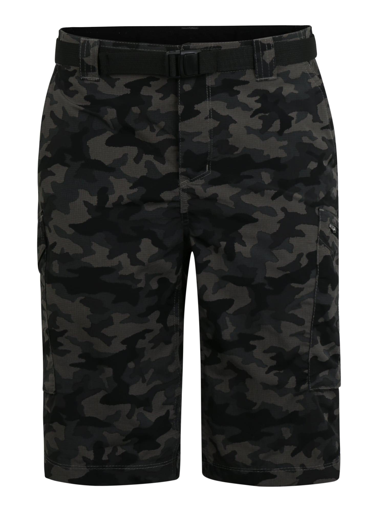 COLUMBIA Sportinės kelnės pilka / juoda