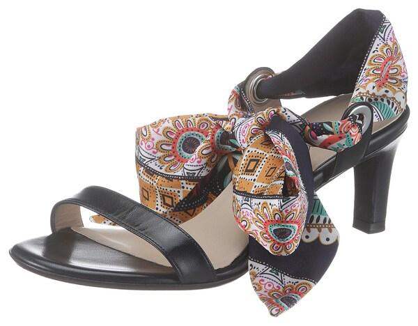 Sandalen für Frauen - Sandalette 'Blair' › Peter Kaiser › dunkelblau mischfarben  - Onlineshop ABOUT YOU